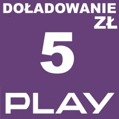 Play doładowanie 5 zl