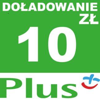 Tanie Doładowanie Plus 10 zł online