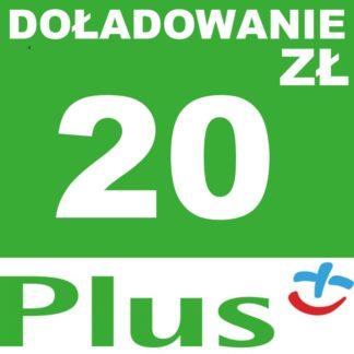 Tanie Doładowanie Plus 20 zł online