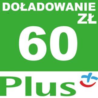 Tanie Doładowanie Plus 60 zł online