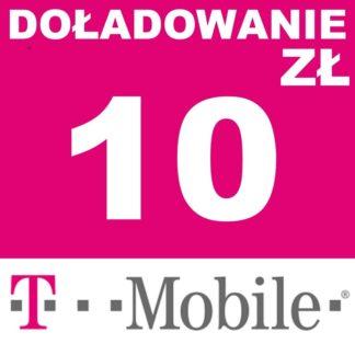 Tanie Doładowanie T-mobile 10 zł online