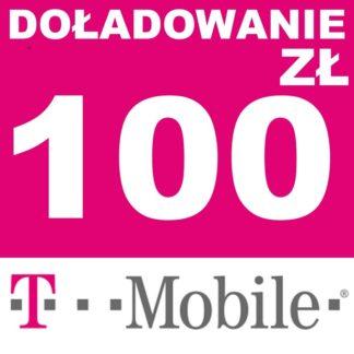 Tanie Doładowanie T-mobile 100 zł online