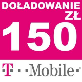 Tanie Doładowanie T-mobile 150 zł online