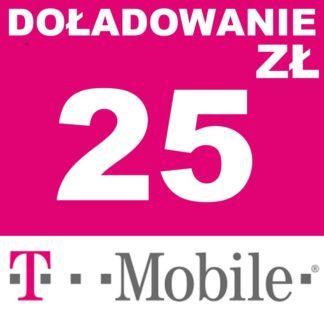 Tanie Doładowanie T-mobile 25 zł online