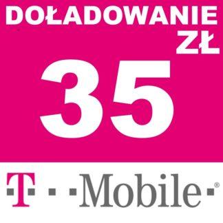 Tanie Doładowanie T-mobile 35 zł online