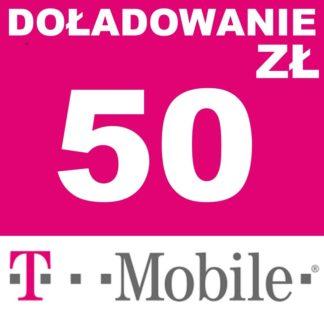 Tanie Doładowanie T-mobile 50 zł online