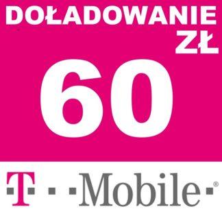 Tanie Doładowanie T-mobile 60 zł online
