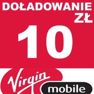 Tanie Doładowanie Virgin Mobile 10 zł online