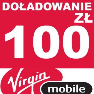 Tanie Doładowanie Virgin Mobile 100 zł online