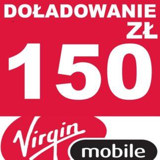 Tanie Doładowanie Virgin Mobile 150 zł online