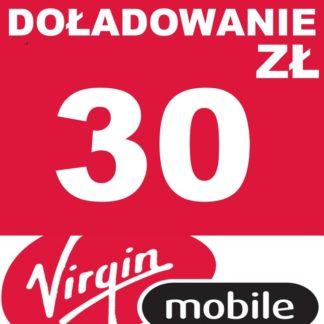 Tanie Doładowanie Virgin Mobile 30 zł online