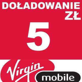 Tanie Doładowanie Virgin Mobile 5 zł online