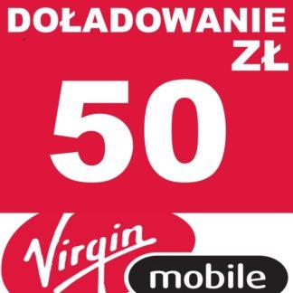 Tanie Doładowanie Virgin Mobile 50 zł online