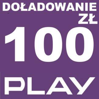 Tanie Doładowanie play 100 zł online