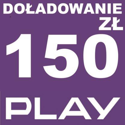 Tanie Doładowanie play 150 zł online