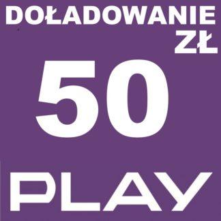 Tanie Doładowanie play 50 zł online