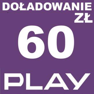 Tanie Doładowanie play 60 zł online