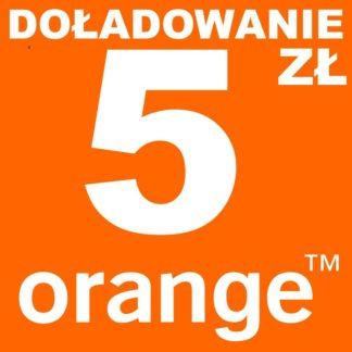 orange doładowanie 5 zł