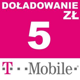 doladowanie 5 zl t-mobile