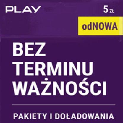 starter Play odnowa bez terminu ważności 5 zl