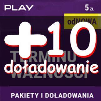 starter Play-odnowa bez terminu ważności-5-zl z doładowaniem 10